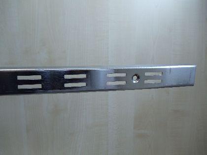Stelaż 2400mm z podwójnymi rowkami do ściany
