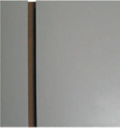 Panel 2400x1200x150mm, kolor siwy