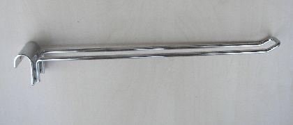 Chromowany podwójny hak do zawieszenia 15cm
