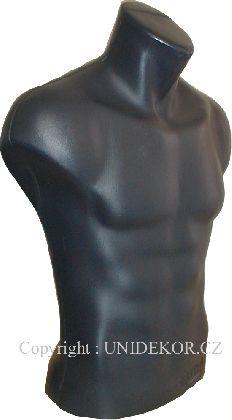 Popiersie męskie krótkie kolor czarny