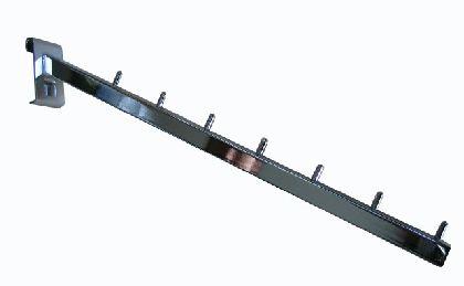 Pochylony wieszak z wałeczkami - ramię 410mm