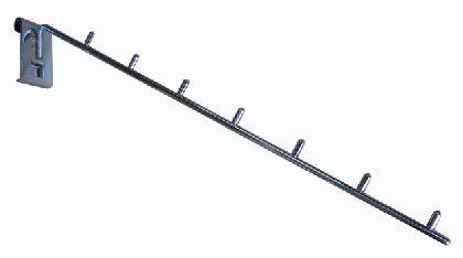 Wieszak z wałeczkami - ramię O6x450mm