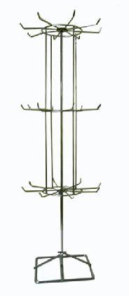 Chromowany stojak na biżuterię 3-piętrowy*60cm