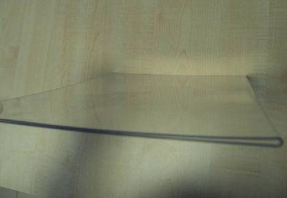 Kieszeń A4 z pleksi - pozioma