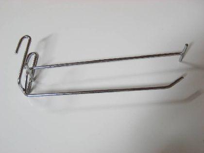 Haczyk 150mm z ramieniem na metkę
