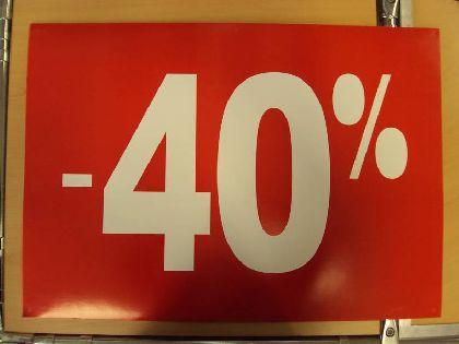 Banner Wywieszka żnizkowa -40%