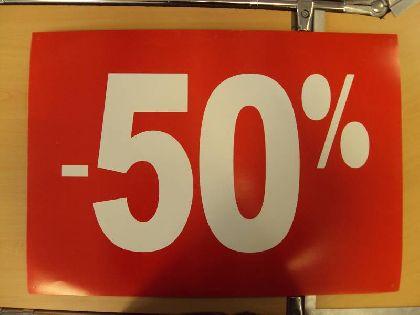 Banner Wywieszka żnizkowa -50%