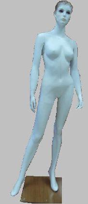 Manekin damski biały z głową