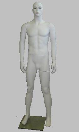 Manekin męski biały z głową
