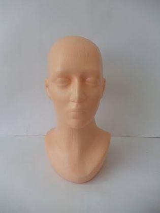 Głowa damska plastikowa